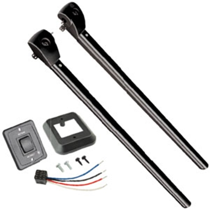 Picture of Lippert Solera Black Pitched Power Awning Arm 351392 00-0379