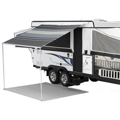 Picture of Carefree Campout 2.5M Black/Gray W/W Vinyl Campout Bag Awning 981018D00 00-1018