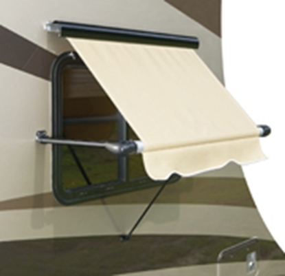 Picture of Carefree Window Awning SL White 33 Deg Pitch Manual Awning Arm IC0551 00-2708