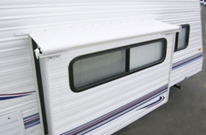 "Picture of Carefree Slideout 12' 9"" White Slideout Cover (TM) Slide Out Awning LH1530042 00-7943"
