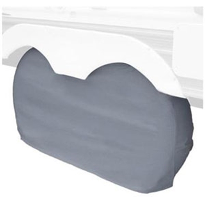 """Picture of Classic Accessories  1-Pack White 30"""" to 33"""" Diam Double Tire Cover 80-211-052801-00 01-0033"""
