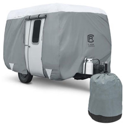 Picture of Classic Accessories PolyPRO (TM) 3 12-14' Molded Fiberglass Travel Trailer Cover 80-295-153101-RT 01-0091