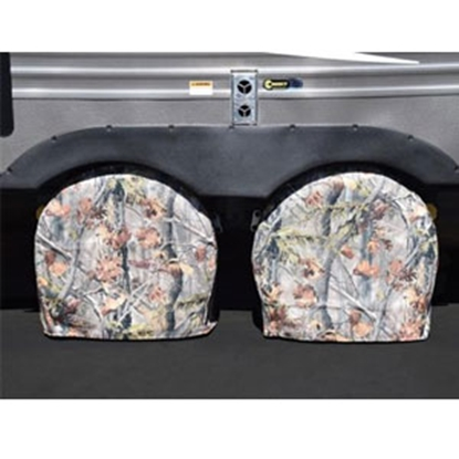 "Picture of ADCO  2-Pack Camo 40""-42"" Diam Bus Tyre Gard Single Tire Cover 3649 01-0174"