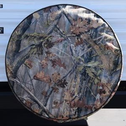 "Picture of ADCO  Camo 29-3/4"" Size-E Spare Tire Cover 8754 01-0199"
