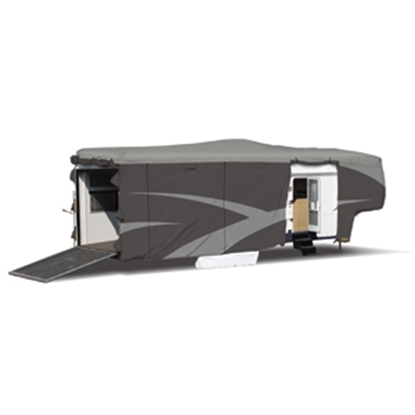"Picture of ADCO Designer SFS Aquashed (R) 30'1"" to 33'6"" Toy Hauler Cover 52275 01-0263"