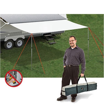 Picture of Carefree  8'D x 20'L Canopy Extension 242000 01-0282