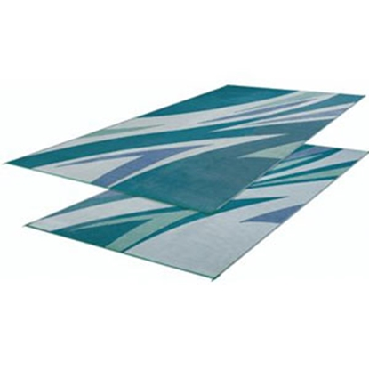 Picture of Faulkner  20' x 8' Green/Blue Reversible Camping Mat 46294 01-0649