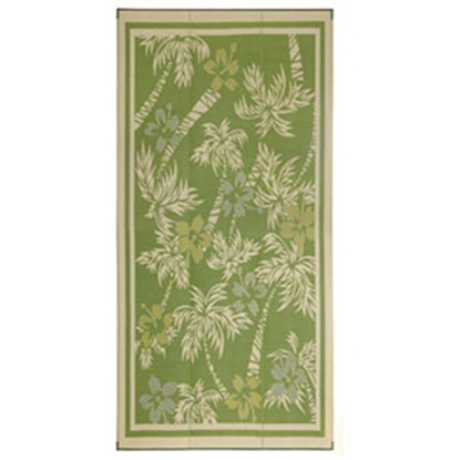 Picture of Faulkner  12' x 9' Yellow Reversible Camping Mat 48935 01-0723
