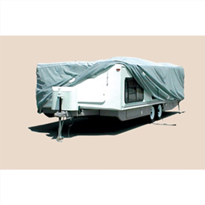 "Picture of ADCO SFS AquaShed (R) 20' to 22'6"" Hi Lo Trailer Cover 12252 01-1110"