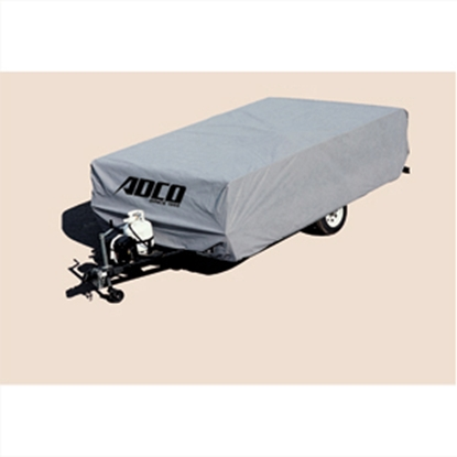 "Picture of ADCO SFS AquaShed (R) 22'7"" to 26' Hi Lo Trailer Cover 12253 01-1112"