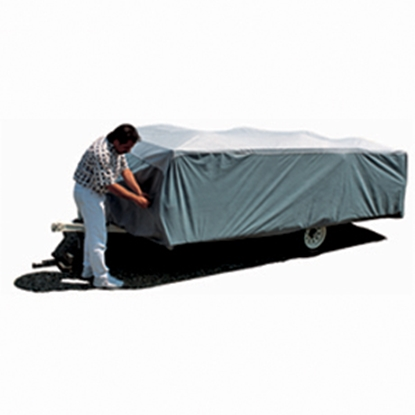 "Picture of ADCO SFS AquaShed (R) 12'1"" to 14' Folding Trailer Cover 12293 01-1140"