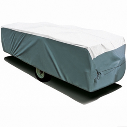"Picture of ADCO Tyvek (R) 8'1""-10' Folding Trailer Cover 22891 01-1208"