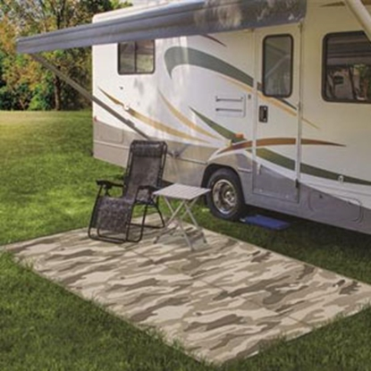 Picture of Camco  9' x 12' Camouflage Reversible Camping Mat 42825