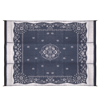 Picture of Camco  9' x 12' Blue Oriental Reversible Camping Mat 42851 01-2961