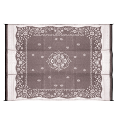 Picture of Camco  9' x 12' Charcoal Oriental Reversible Camping Mat 42853 01-2963
