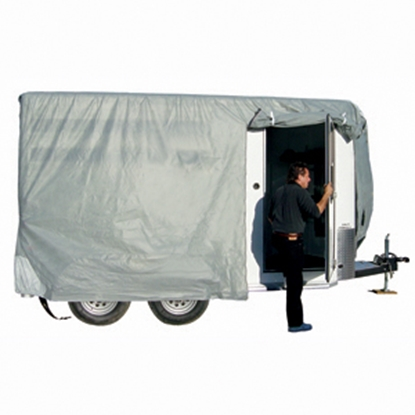 Picture of ADCO SFS AquaShed (R) 12'1 to 14' SFS AquaShed Horse Trailer Cover 46003 01-3432
