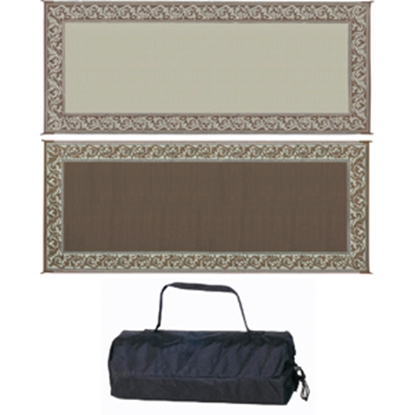Picture of Ming's Mark  8' x 20' Brown/Beige Reversible Camping Mat RC7 01-4137