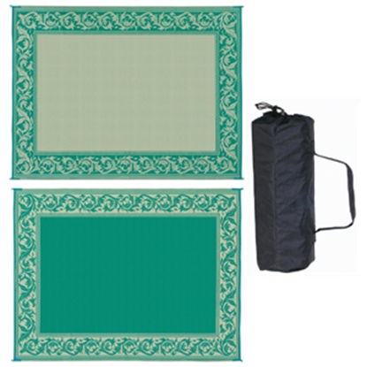 Picture of Ming's Mark  8' x 20' Green/Beige Reversible Camping Mat RC4 01-4198