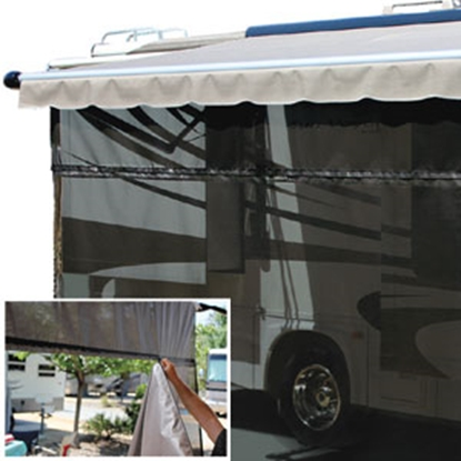 Picture of Carefree EZ ZipBlocker 19' x 9' EZ Zipblocker Awning Sun Block Panel 701909 01-4220