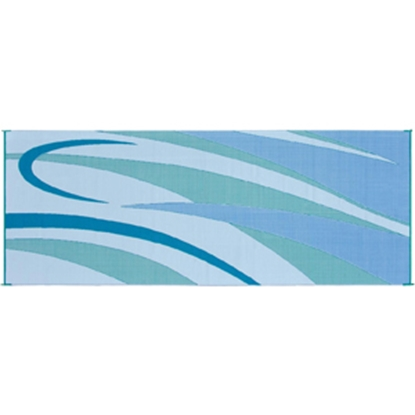 Picture of Ming's Mark  8' x 20' Blue/Green Reversible Camping Mat GC3 01-4998
