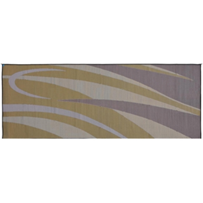 Picture of Ming's Mark  8' x 20' Brown/Gold Reversible Camping Mat GC7 01-4999