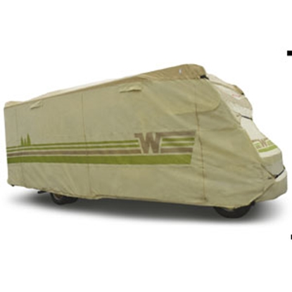 "Picture of ADCO Winnebago (TM) Tan Poly 23' 1"" To 26' Class C Winnebago (TM) Cover 64813 01-8639"