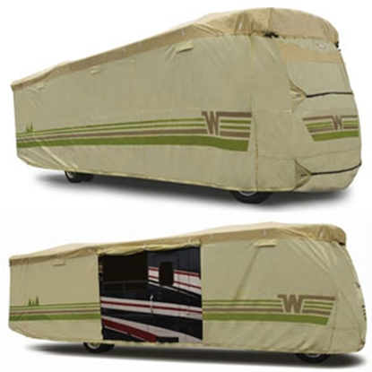 "Picture of ADCO Winnebago (TM) Tan Poly 37' 1"" To 40' Class A Winnebago (TM) Cover 64827 01-8646"