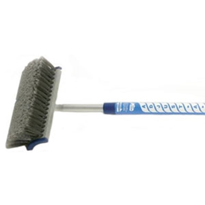 Picture of Adjust-a-Brush  4'-8' Flo-Thru Telescopic Combination Brush w/ Soft Handle PROD420 02-0106
