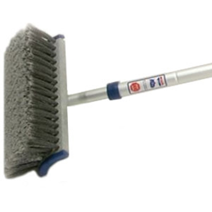 Picture of Adjust-a-Brush  4'-8' Ft Flo-Thru Telescopic Combination Brush PROD422 02-0107