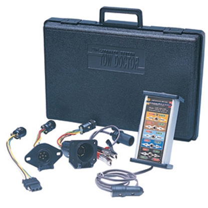 Picture of Hopkins Tow Doctor (TM) 4 Wire Flat/6 Pole Round/7 RV Blade Trailer Wiring Circuit Tester 50928 02-0230