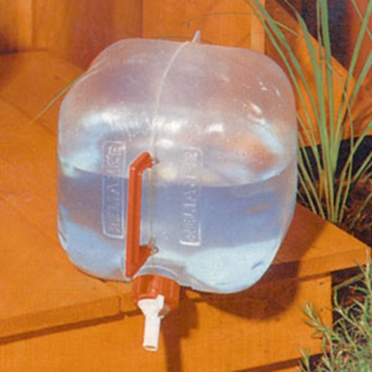 Picture of Reliance Products Fold-A-Carrier 5 Gal White Polybagged Collapsible Water Carrier 5000-13 03-0034