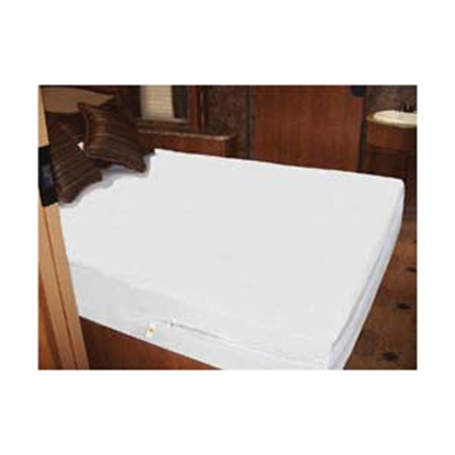 Picture of Mattress Safe Sofcover (R) White Waterproof Short Queen/Queen Mattress Protector CWU-6077.5 W 03-0140