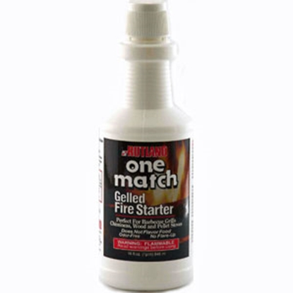 Picture of Rutland Products One Match (R) 16 oz One Match Gelled Fire Starter 49 03-0163