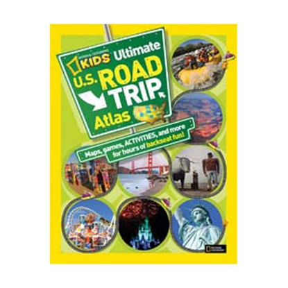 Picture of National Geographic  Kids Ultimate US Road Trip Atlas BK26309335 03-0232