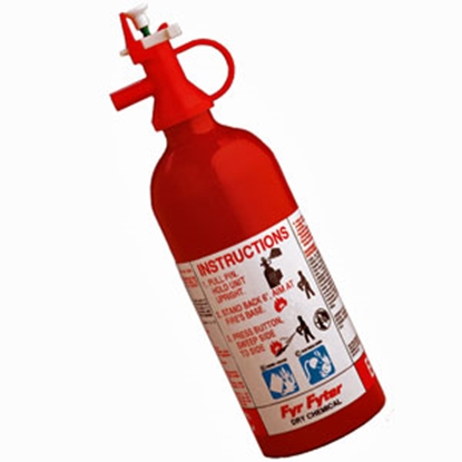 Picture of Kidde  2-B:C Disposable Fire Extinguisher 4004000K 03-0248