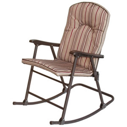 Picture of Prime Products Cambria Red Rock Padded Rocker Chair 13-6803 03-0295