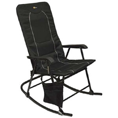 Picture of Faulkner  Black/Black Dakota Folding Rocking Chair 49597 03-0332