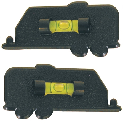 Picture of Prime Products  2-Pack Black Stick-On Bubble RV Level 28-0112 03-0410