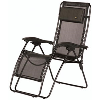 Picture of Faulkner  Black Mesh Recliner 48962 03-0413