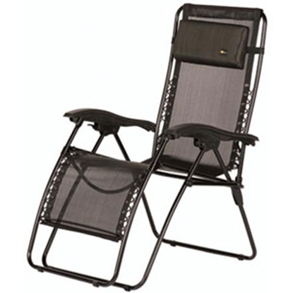 Picture of Faulkner  Black Mesh XL Recliner 48972 03-0437