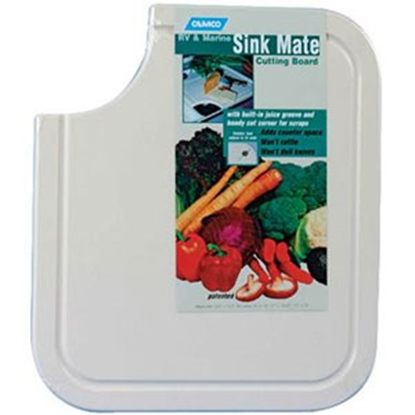 Picture of Camco  White Sink Mate Cutting Board 43857 03-0451