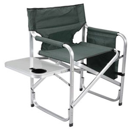 Picture of Faulkner  Green Director's Chair w/ Side Tray & Pocket Pouch 48870 03-0473