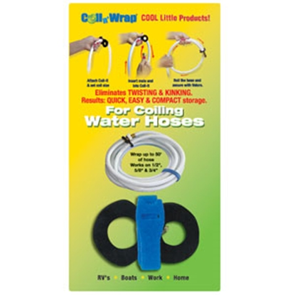 Picture of Coil n' Wrap Coil N Wrap (R) Water Hose Straps 006-1 03-0504