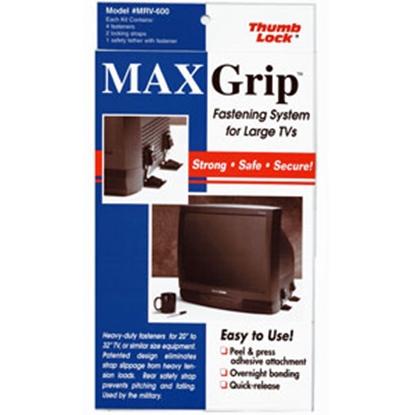 Picture of Thumb Lock Max Grip (TM) Black MAX Grip Big Screen TV Fasteners MRV-630BK 03-0505