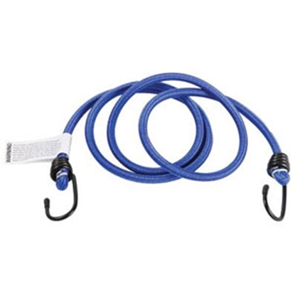 "Picture of Camco  50"" Blue Bungee Cord w/Steel Hooks 51001 03-0508"
