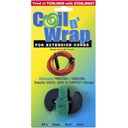 Picture of Coil n' Wrap Coil N Wrap (R) 16 Gauge Extension Cords Cord Wraps 006-3 03-0510