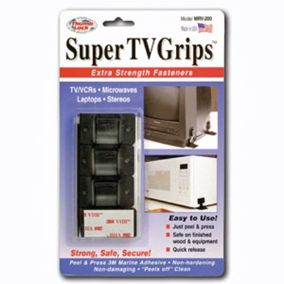 Picture of Thumb Lock Super TV Grips (TM) White Super TV Grips MRV-200WT 03-0512