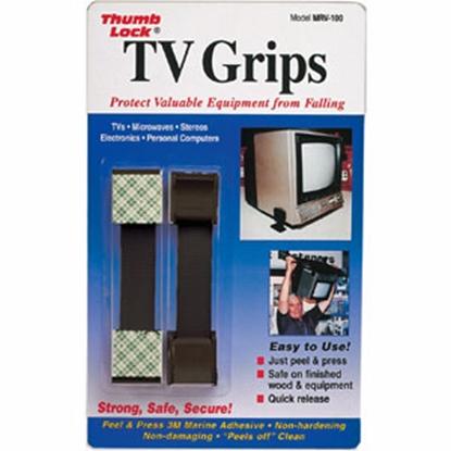 Picture of Thumb Lock TV Grips (TM) Black TV Grip Kit MRV-100BK 03-0558