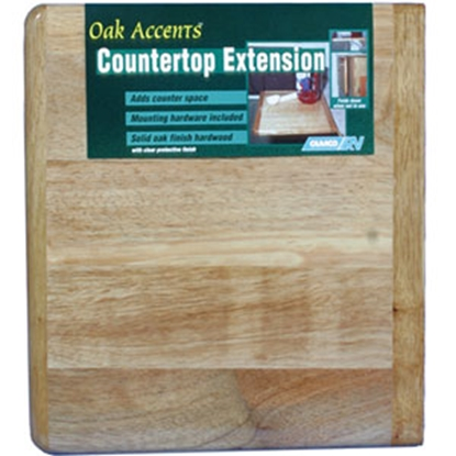 "Picture of Camco  12"" x 14"" Oak Countertop Extension 43421 03-0562"