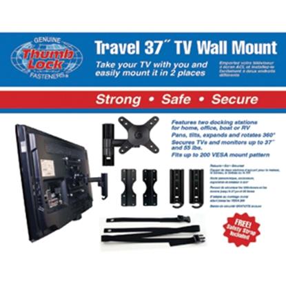 """Picture of Thumb Lock  Swivel & Tilt TV Wall Mount For 37"""" TV MRV3510 03-0567"""